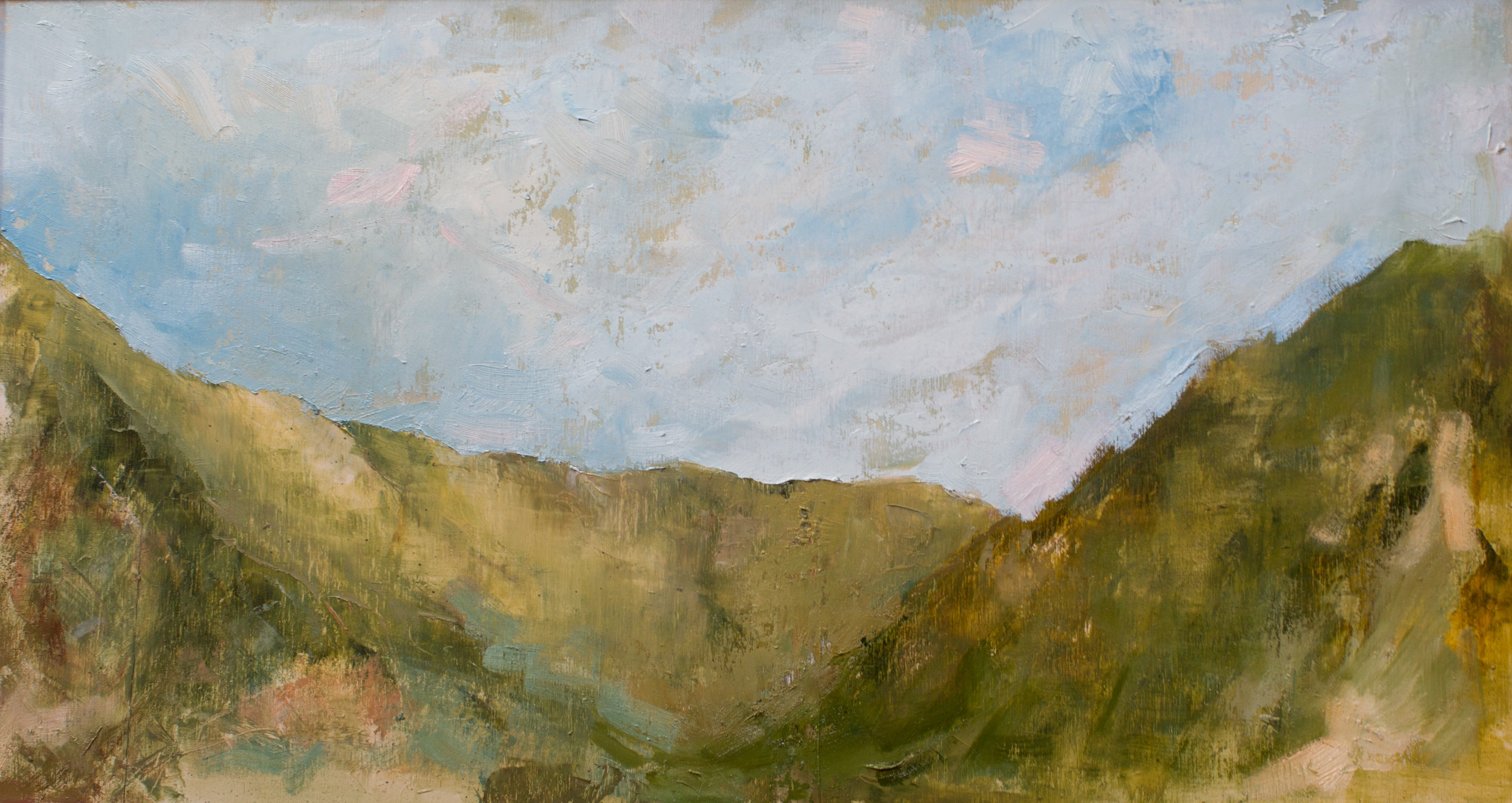 Martindale July oil on board