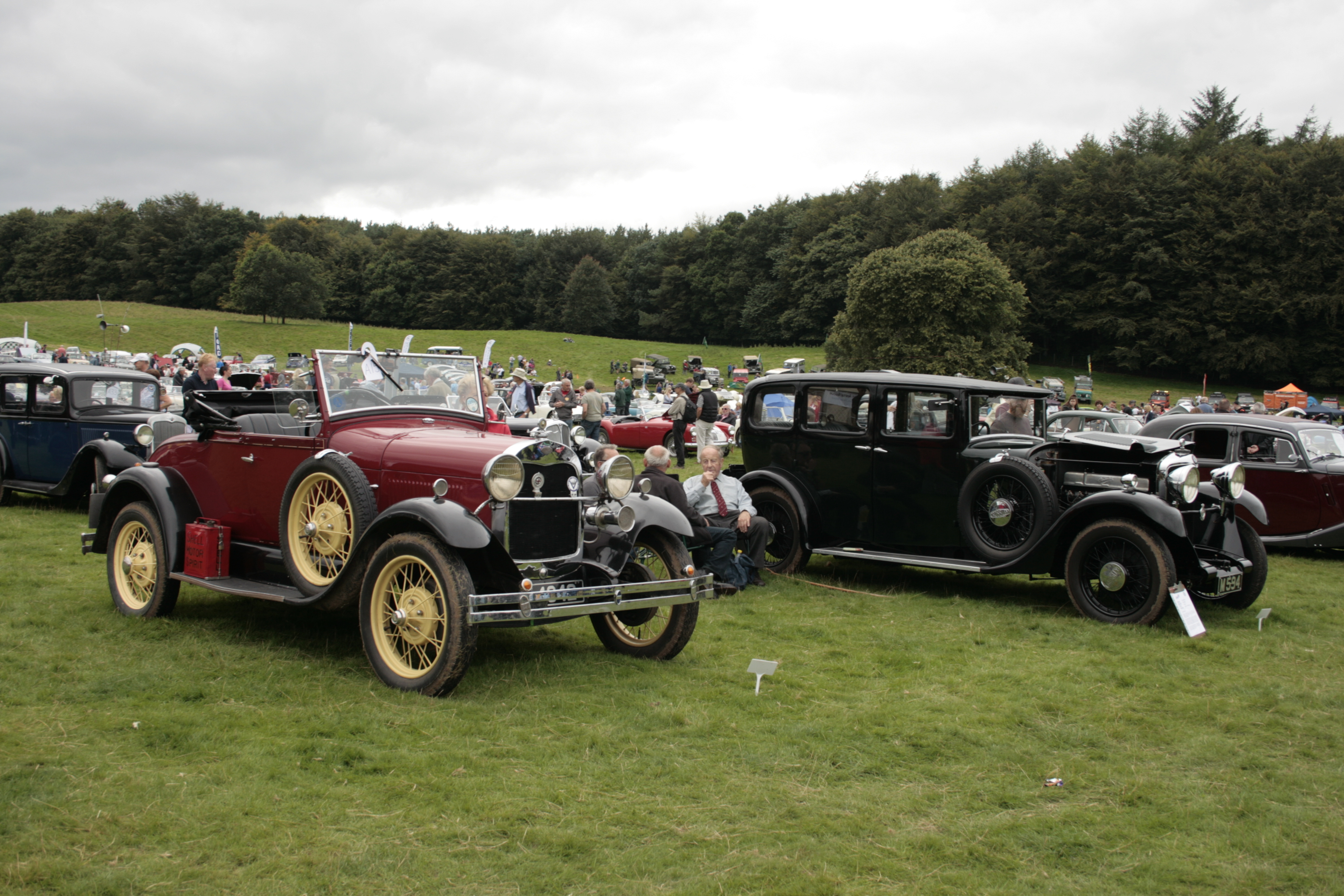 Classic Car Show At Dalemain The Dalemain Estate - Antique car show near me today