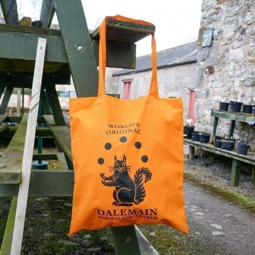 Dalemain Marmalade Awards Orange Tote Bag