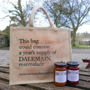 Dalemain Hessian Bag