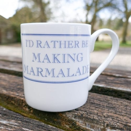 I'd Rather Be Making Marmalade Mug