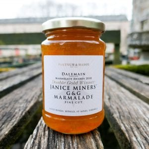 2018 Double Gold Winner Janice Miners' G&G Marmalade