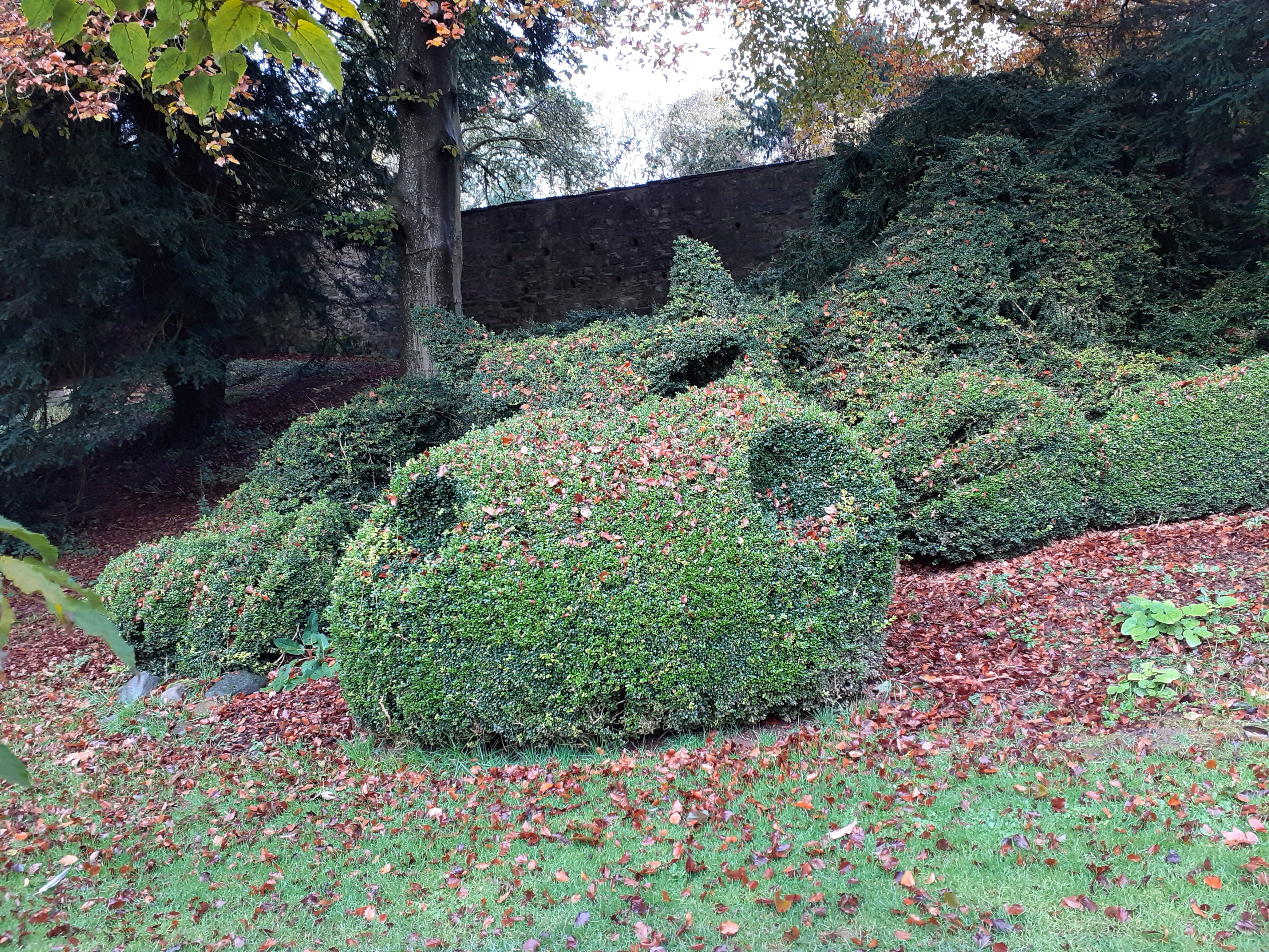 The Topiary dragon